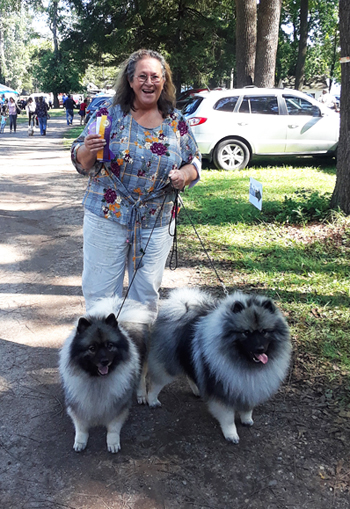 Jossa and Vinny both finished their AKC CH TITLE on 9/29/18 in New York.
